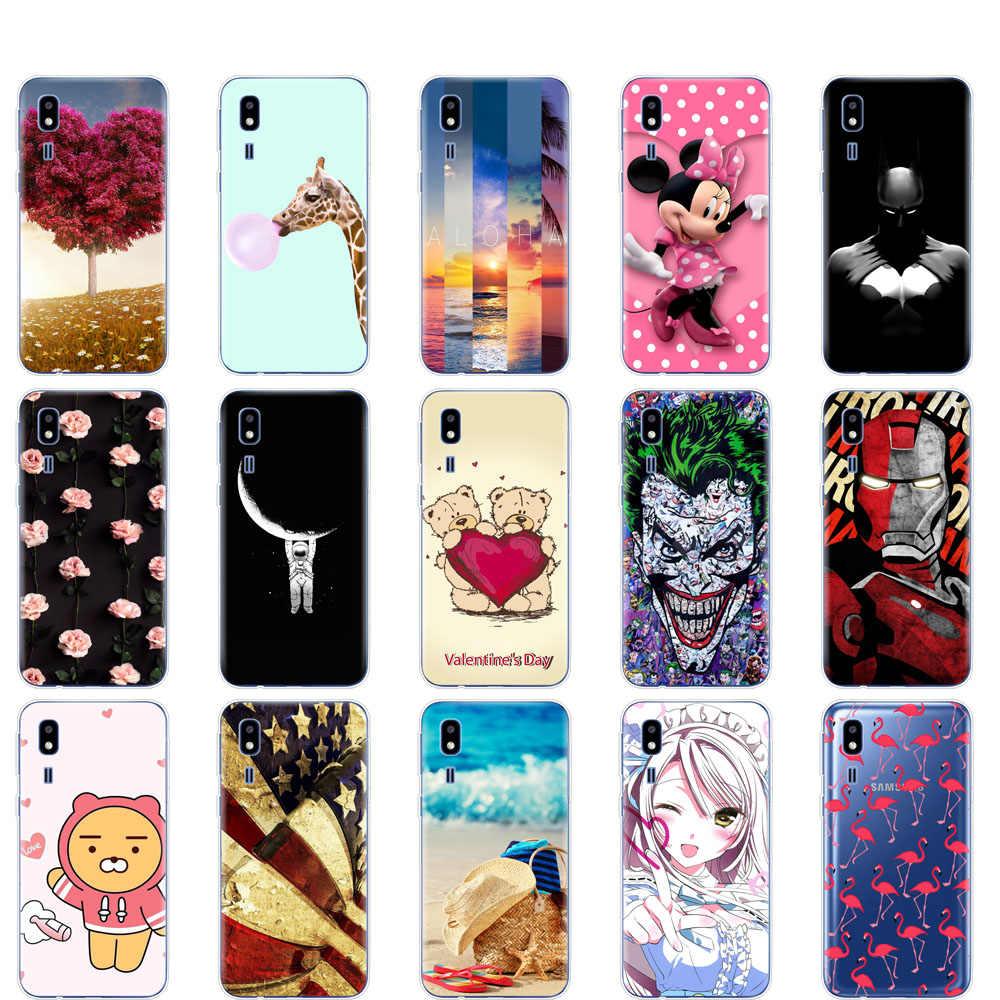 case For Samsung Galaxy A2 Core 2019 case Silicone Soft TPU phone coque For Samsung A 2 Core A2Core A260F 5.0'' fundas bumper