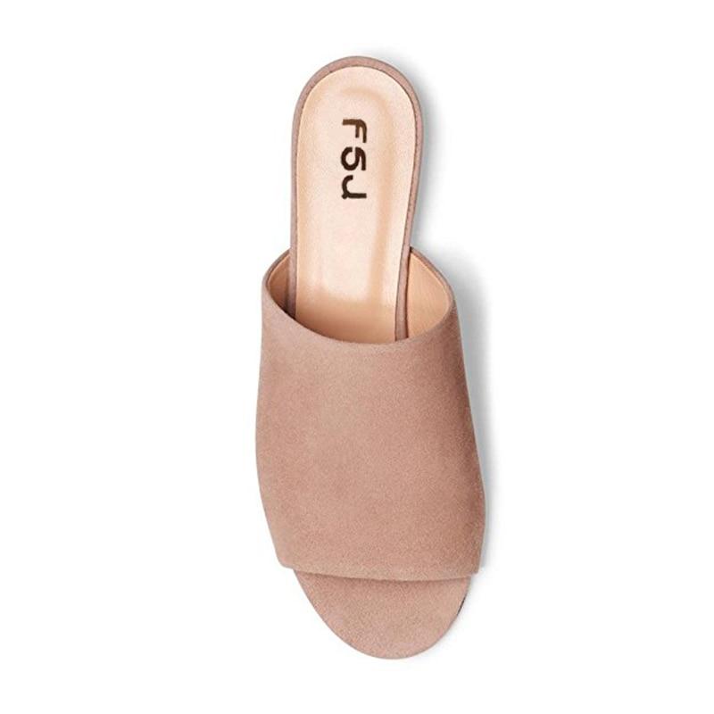 Aire Verano Punta Bajo Fsj01 Inverno Talón Artesanía Chucky Libre Zapatillas Suave 33 Chinelos fsj02 Niñas Mujer Beige Al Fsj Abierta Zapatos Negro Gamuza xYX8ZwqA
