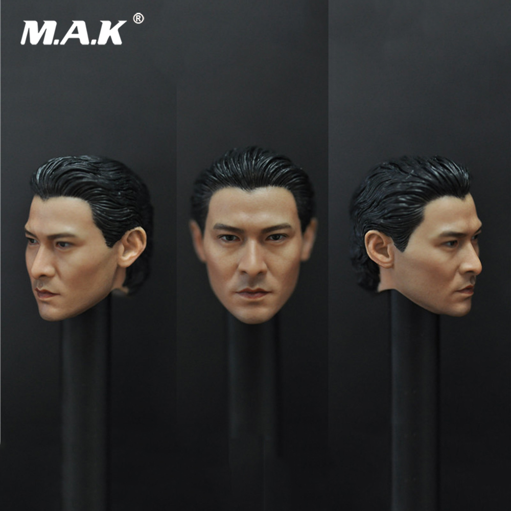 For Fans Gift 1/6 Man Head Sculpt Model Toy God of Gamblers Andy Lau Head Carving Without Neck Gift for 12 inches Action Figure For Fans Gift 1/6 Man Head Sculpt Model Toy God of Gamblers Andy Lau Head Carving Without Neck Gift for 12 inches Action Figure
