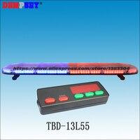 Tbd 13l55 высокое качество супер яркий 1.5 м синий и красный светодиодный световая, аварийный/Полиция световая, DC12V/24 В крыше автомобиля флэш Strobe
