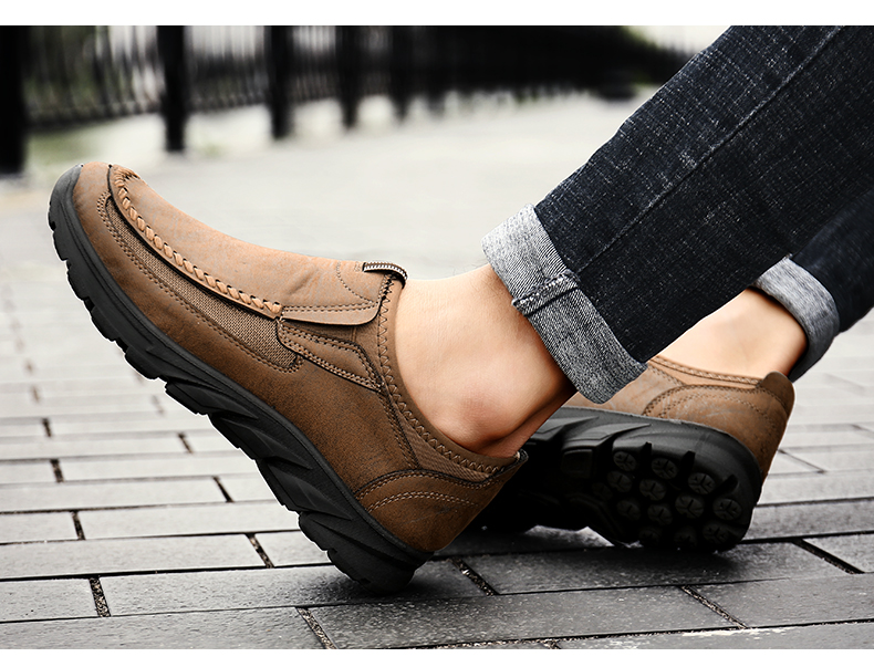 HTB1 YM1alCw3KVjSZFuq6AAOpXad Men Casual Shoes Loafers Sneakers 2019 New Fashion Handmade Retro Leisure Loafers Shoes Zapatos Casuales Hombres Men Shoes