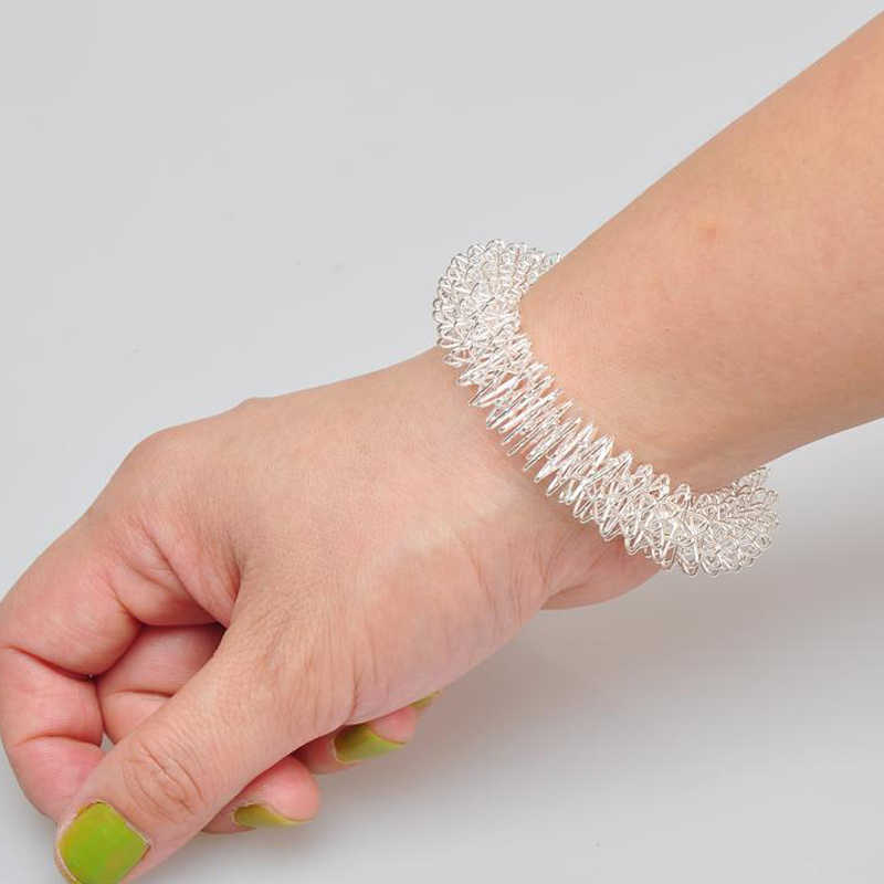 PeNeede Весна колючий игрушечный браслет аутизм, тревожность ручной снятие стресса сенсорные игрушки акупрессурный браслет