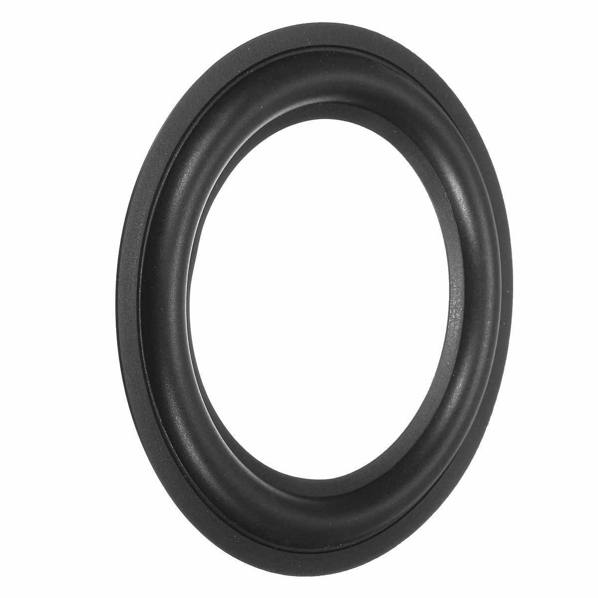 LEORY 1 шт. 5 дюймов мягкий окружает Рог кольцо Ремонтный комплект громкий динамик черный резиновый пылезащитный кольцо