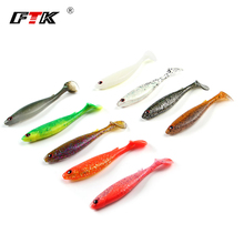 FTK 5PCS/Lot 10cm/8g Wobblers Fishing Lures Simple Shiner Swimbait Silicone Delicate Bait  Carp Synthetic Delicate Lure Fishing Deal with