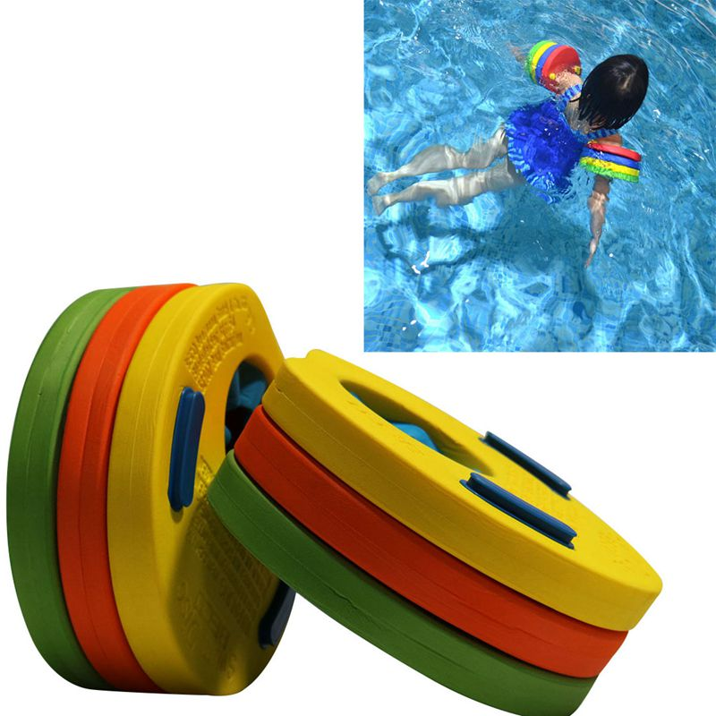 Hunting 6x Swimming Discs Foam Float Arm Bands For Kids Childrens Swim Practise