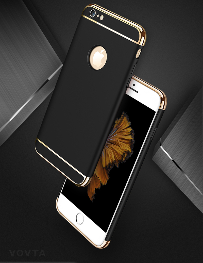 VOVTA Luxury Anti-Knock Cases For iPhone 6 8 7 Plus Case Plating Shockproof Full Cover For iphone 7 6s 8 Plus Phone Case3