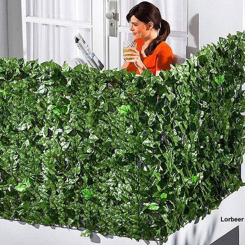 Free Shipping Artificial Laurel Hedge 1x3m Garden Chain