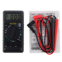 Mini Digital Multimeter With Buzzer Overload Protection Pocket Voltage Ampere Ohm Meter DC AC LCD Portable Multimetro Ammeter AA