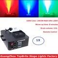 1 упаковка супер LED 1500 Вт RGB 3в1 светодиодная противотуманная машина 3.5л DMX512 дымовая машина с 24X3W светодиодами профессиональная сценическая ма...