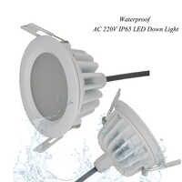 (6 teile/los) neue Ankunft 15 watt Wasserdichte IP65 Dimmbare LED Downlight COB15W Dimmen LED Spot Licht LED Decken Lampe Für Badezimmer