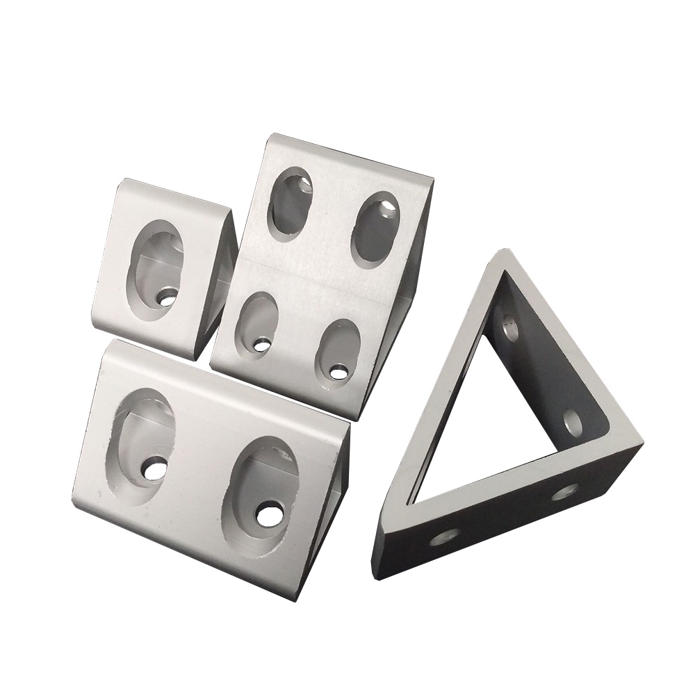 Inside Gueest Corner Bracket 90 Degree  Angle  Connection For Aluminum Profile 3030/4040/4545/6060/8080/9090/100100