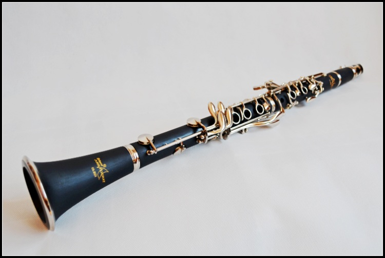 Selmer CL-601 High Grade Clarinet 17 Key B flat Clarinet with Case Playing Clarinet Accessories Black Wind Instrument