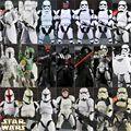 Star Wars The Force Despierta Rogue Uno Darth Mutilar Darth Vader Deathtrooper Capitán Phasma Boba Fett Stormtrooper Juguetes Figura de Modelo