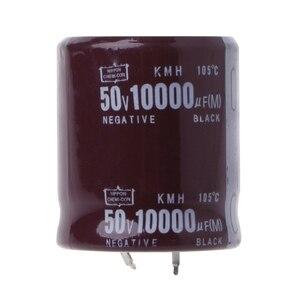 Image 2 - 10000 미크로포맷 50V 105 섭씨 전원 전해 커패시터 스냅인 스냅인 S927