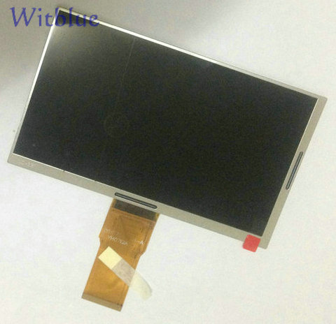 Witblue New LCD display Matrix for 7 Denver TAQ-70282KBLUE/PINK Tablet LCD Screen panel Module Replacement cloning and expression of taq polymerase gene