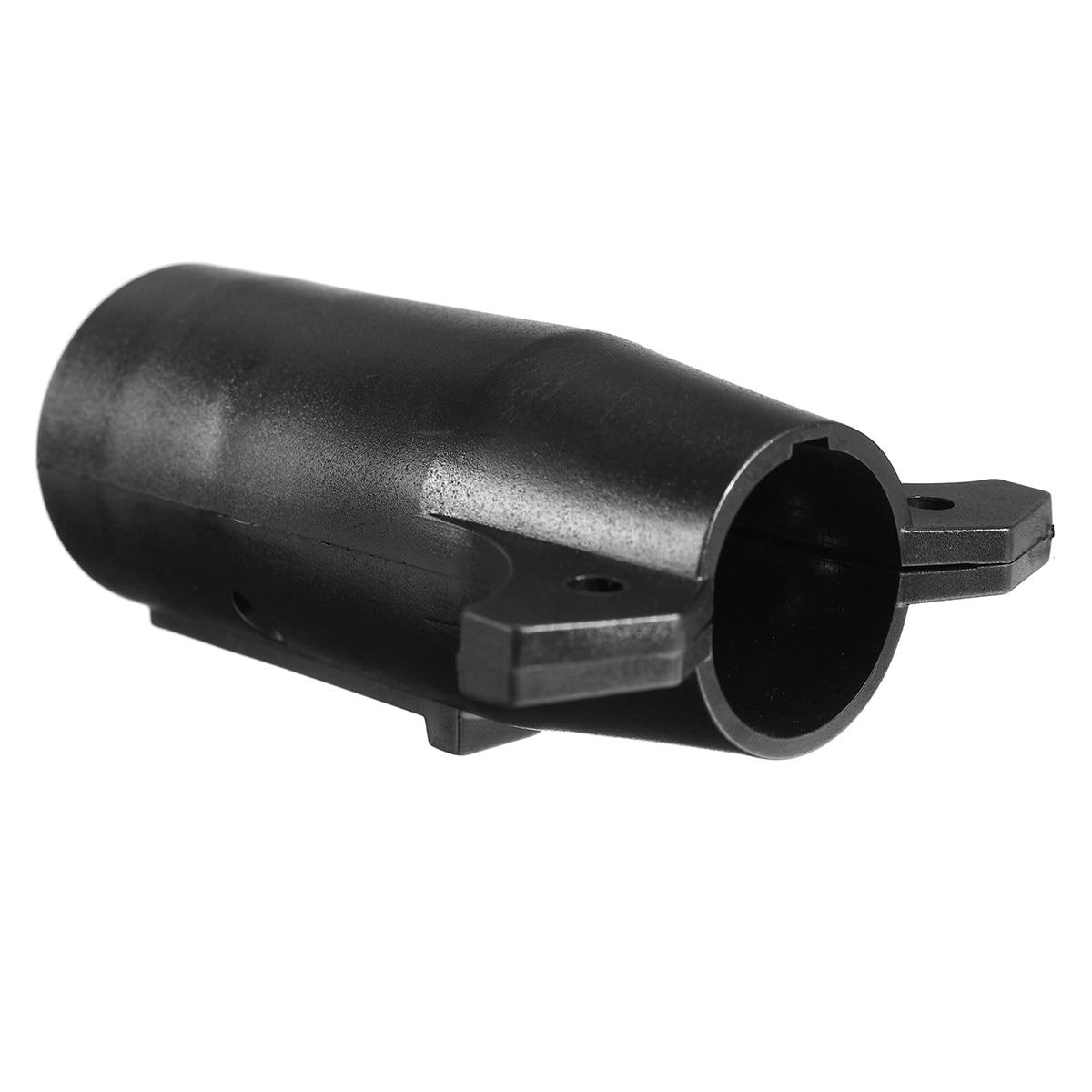 KROAK 7 Way Flat Pin to 6 Way Round Pin Trailer Wiring Adapter Plug ...