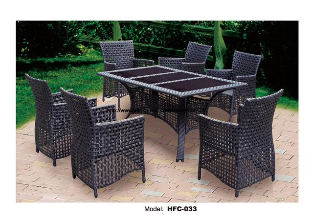 Rattan set  Classic Rattan Garden Set Modern Leisure Outdoor desk Table chairs ...