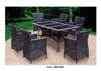 Classic Rattan Garden Set Modern Leisure Outdoor desk Table chairs balcony Garden furniture combination leisure chairs Set