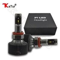 1 Pair H11 H8 LED Headlight Bulbs Conversion Kit 30W 4200LM 6000K White For DRL Daytime