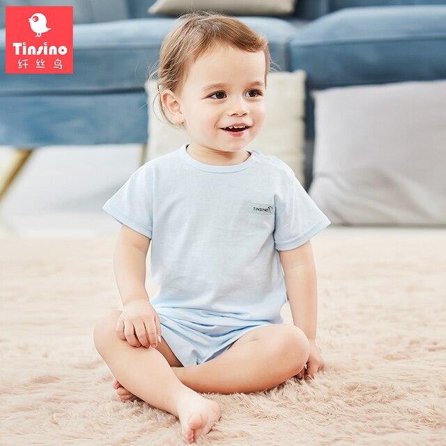 7b0000a1b Tinsino New Baby Boys Girls Summer Clothing Sets Children Short ...