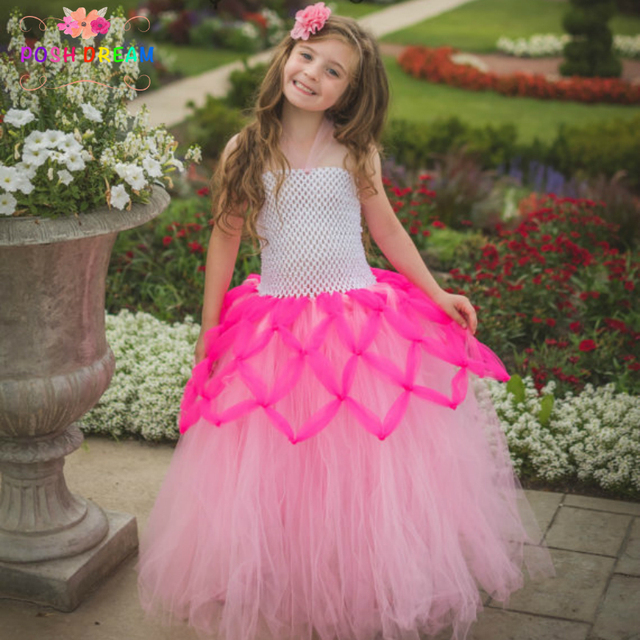 POSH DREAM Pink and Hot Pink Mermaid Kids Girl Dress Halloween Costume Little Girls Spiderweb Fairy  sc 1 st  AliExpress.com & POSH DREAM Pink and Hot Pink Mermaid Kids Girl Dress Halloween ...