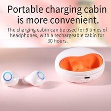 Auriculares estéreo Bluetooth inalámbricos con estuche de carga auriculares de música inalámbricos mini auriculares deportivos para IOS Android