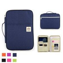 للماء A4 ملف منظم المفكرة حقيبة مجلة كتاب مجلد مجموعة حقيبة مستندات للرجال النساء مكتب حقيبة أعمال