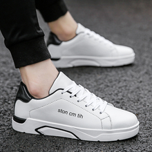 Hot Sale Men White/black/red  Shoes Fashion Spring Summer Casual Men Shoes Lace-up Breathable Men Casual Shoes   5 цены онлайн