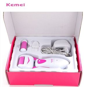 Image 5 - Foot Care Tool Feet Dead Dry Skin Removal Electric Foot Exfoliator File  Heel Cuticles Remover Feet Care Pedicure KM 2502