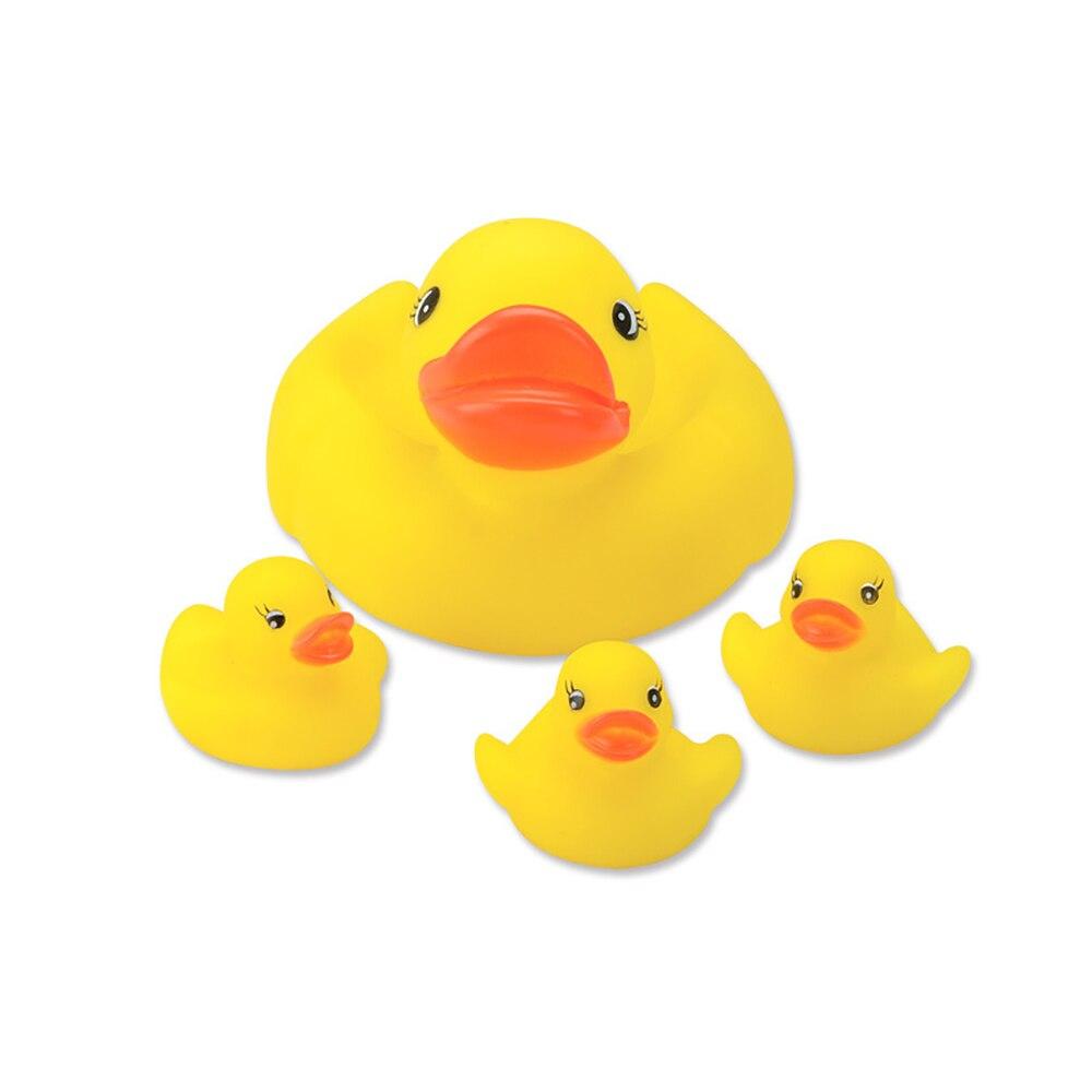 Conjunto de baño familiar de goma amarilla Yuanlebao Duck (juego de - Juguetes clásicos - foto 2