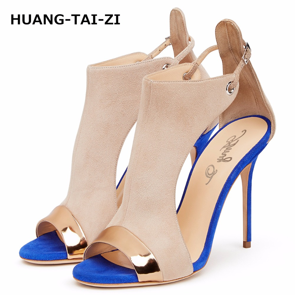 34-46 Brand Women Pumps Ankle Strap High Heel Pumps Shoes for Women Sexy Peep Toe High Heels Sandals Party Wedding Shoes Woman 2018 fashion women pumps sexy open toe heels sandals woman sandals thick with women shoes high heels s144