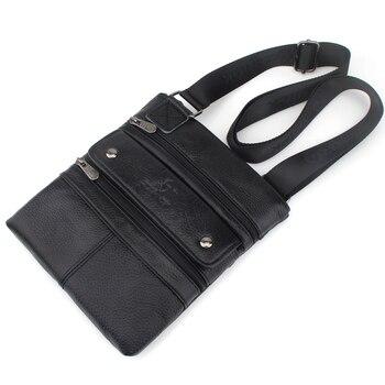 ZZNICK 2019 Echt Leer Mannen Messenger Bag Hot Koop Mannelijke Kleine Man Mode Crossbody Schoudertassen mannen Reizen Nieuwe handtassen