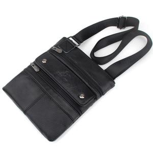 Image 5 - ZZNICK 2020 Genuine Leather Men Messenger Bag Hot Sale Male Small Man Fashion Crossbody Shoulder Bags Mens Travel New Handbags