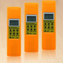 Buy online AZ8705 temperature and humidity meter handheld portable dew point temperature and humidity tester wet bulb