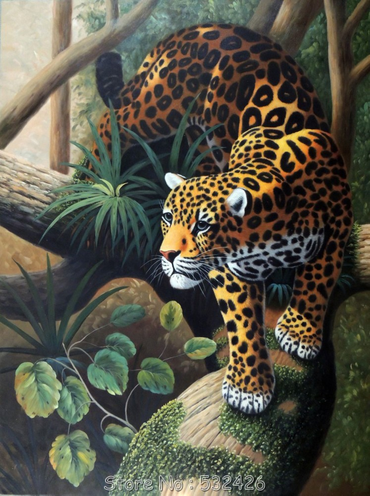 Leopard Wall Art Home Decor ~ Leopard jaguar big cat endangered wild animal jungle