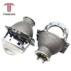 Taochis стайлинга автомобилей Авто головного света рестайлинг 3,0 дюймов Биксеноновая объектив проектора Koito Q5 H7 модернизации Универсальный Ав...