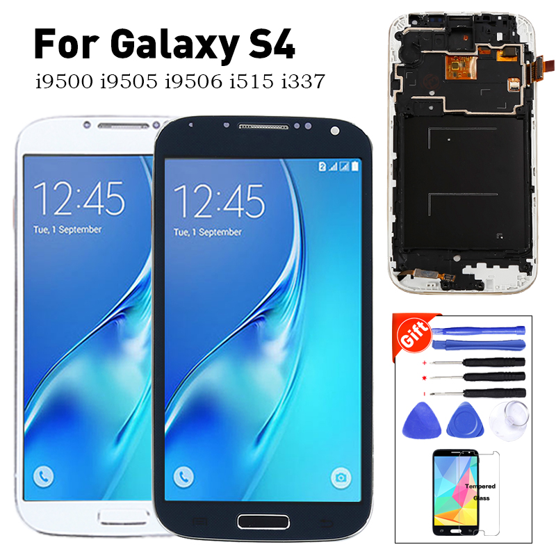 for <font><b>Samsung</b></font> <font><b>Galaxy</b></font> <font><b>S4</b></font> LCD Display <font><b>Touch</b></font> <font><b>Screen</b></font> GT-i9505 <font><b>i9500</b></font> I337 I9506 lcd For <font><b>Samsung</b></font> <font><b>S4</b></font> LCD Display Replacement Parts image
