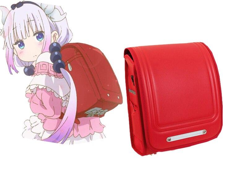 Miss Kobayashi's Dragon Maid Kanna Kamui Japanese Students Bag Japanese Anime Schoolbag Backpack Cosplay Costume Accessories