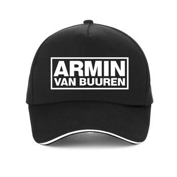 цена ARMIN VAN BUUREN print baseball cap ASOT HOUSE MUSIC IBIZA RAVE DJ men women adjustable snapback hats Unisex bonnet онлайн в 2017 году