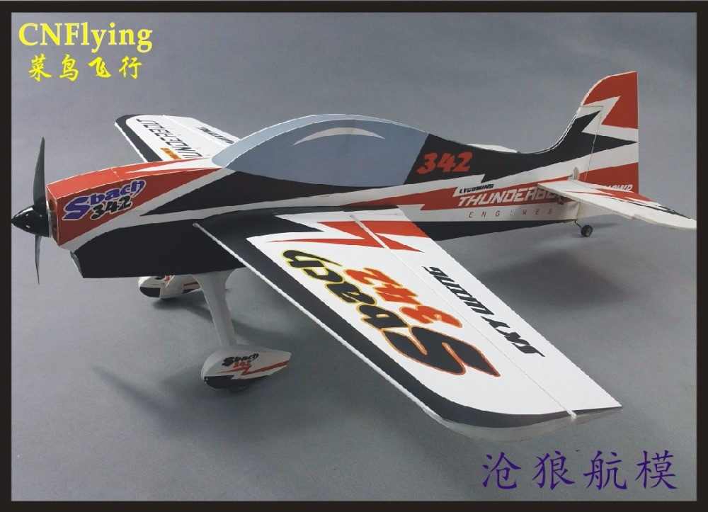 SKYWING NEW 3D PP material PLANE RC airplane RC MODEL HOBBY TOY wingspan 48 SBACH 342 NEW VERSION KIT SET or PNP SET new phoenix 11207 b777 300er pk gii 1 400 skyteam aviation indonesia commercial jetliners plane model hobby