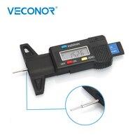 Digital Tread Depth Medidor de Ferramenta de Medição Com Display LCD Tester Medidor De Profundidade de Rosca Ferramentas de Inspeção de Detecção de Espessura Ferramenta de Detecção de espessura     -