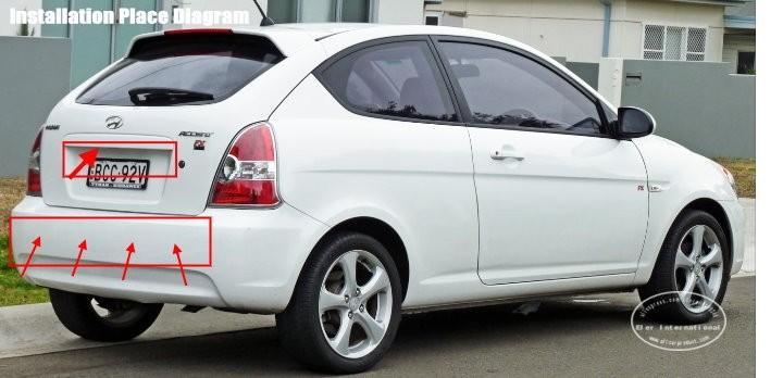 Hyundai-Accent-(MC)-Hatchback-BIBI Alarm Parking System