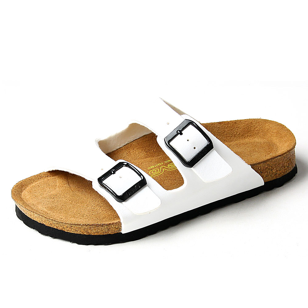 23c24a3a32de Devo 2015 new products women cork sandals lover summer flats couple pu cork  beach slippers