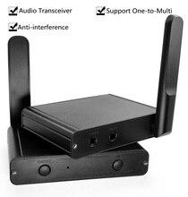 UHF Hifi Digital Wireless Audio адаптер приемопередатчика Беспроводная музыкальная лампа с аудиокабелем 3,5 мм RCA