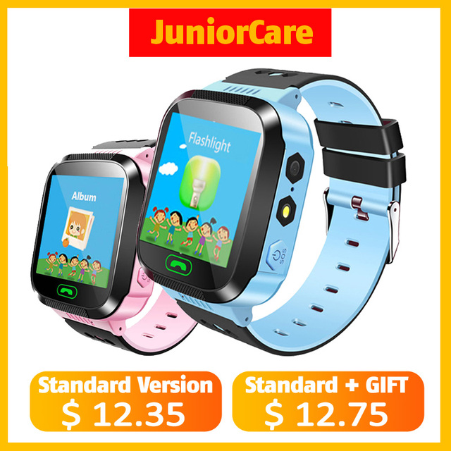 Q02 Children Watch With SOS Call Camera Touch Screen Lighting Phone Positioning Location Baby Smart Watch for Android IOS VS Y21