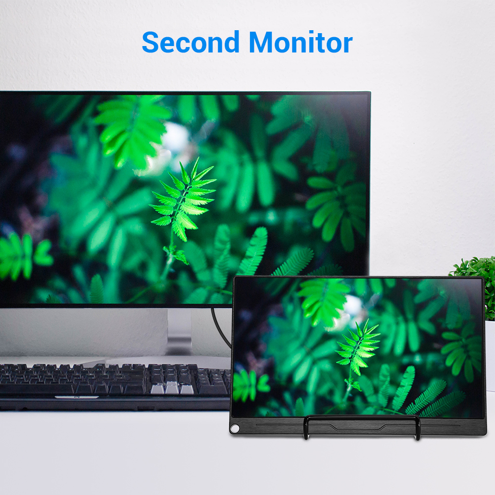 """Image 4 - Eyoyo 13.3"""" FHD 3840 x 2160 4K IPS Gaming Monitor compatible for Game Consoles PS3 PS4 WiiU Switch Raspberry Mini PC ComputerLCD Monitors   -"""