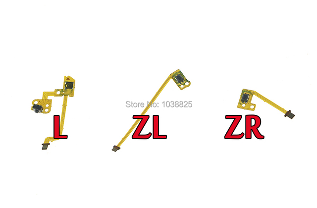 20 Stks/partij Oem Vervanging L Zl Zr Knop Key Lint Flex Kabel Voor Nintendo Ns Schakelaar Vreugde Con Controller knoppen Kabel