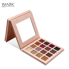 IMAGIC Shimmer Matte Eye shadow Makeup Palette 16 Colors Glitter EyeShadow Powder High Pigmently Eyeshadow Make Up Set Beauty