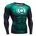 2016autumn Winter Compression Shirt Breathable Mesh Fitness Cothing Brand Clothing For Men Quick Dry 3d Men Crossfit S-2xl
