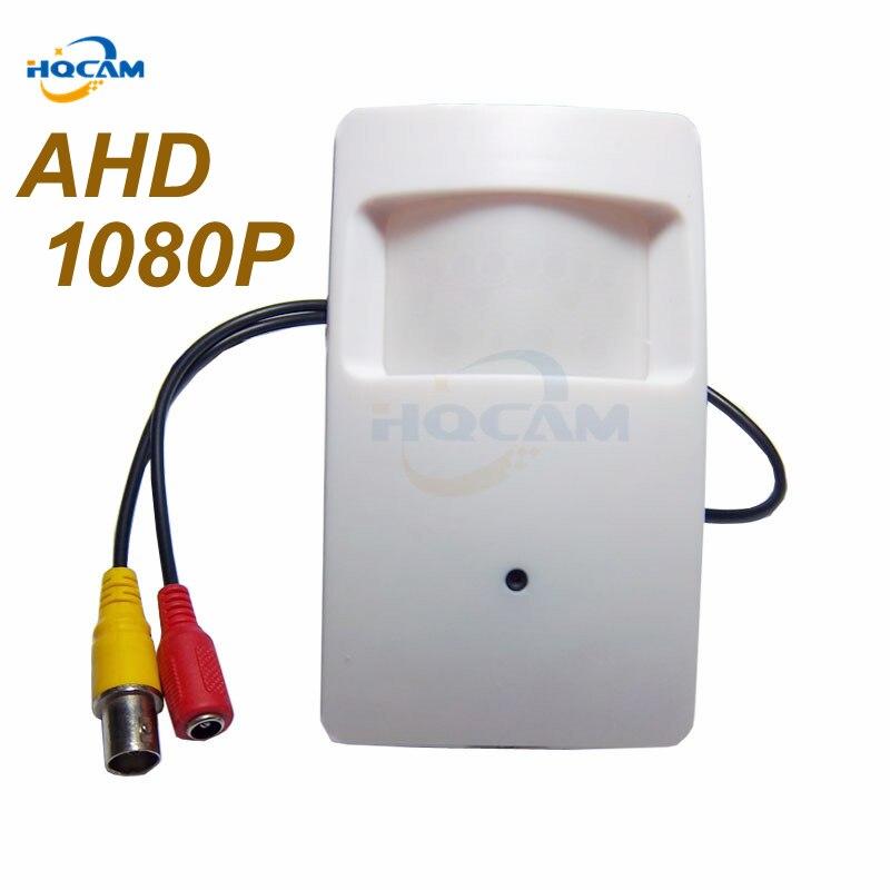 HQCAM 1080 P Mini AHD caméra 3.7mm lentille 2000TVL 2.0 mégapixels PIR Caméra CCTV caméra de sécurité intérieure AHD mini caméra ahd kamera